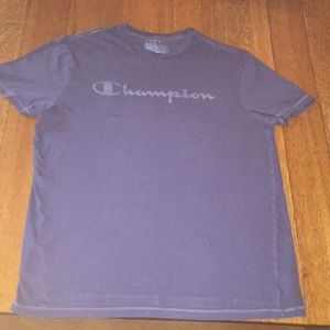 Men's champion shirt